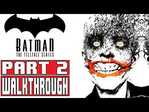 BATMAN TELLTALE EPISODE 5 Gameplay Walkthrough Part 2 FULL GAME (1080p) - No Commentary