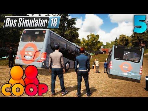 "Bus Simulator 18 - #5 - Multiplayer COOP Playthrough - ""PICNIC BREAKS"""