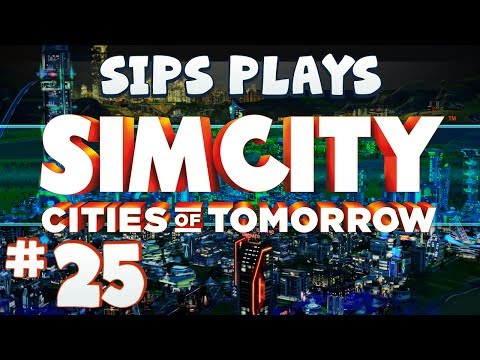 Simcity - Cities of Tomorrow (Full Walkthrough) - Part 25 - Powering Up Tom Clark (Slowly)