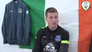 Interview with Republic of Ireland star James McCarthy