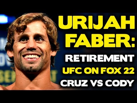 "Urijah Faber Explains Retirement, Why Garbrandt Will ""Thump"" Cruz 