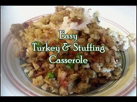 Easy Turkey & Stuffing Casserole