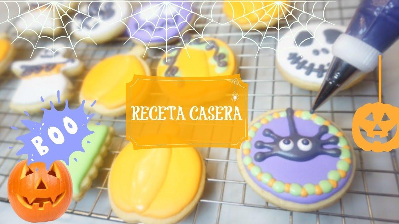 receta galletas de halloween faciles