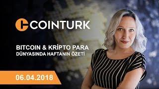 Bitcoin ve Kripto Para Dünyasında Haftanın Özeti / 06.04.2018