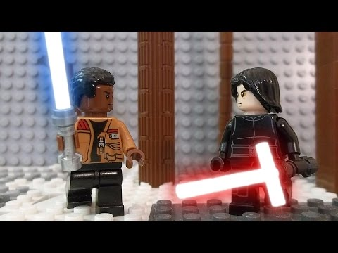 LEGO Star Wars Episode VII Kylo Ren vs. Finn