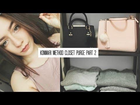 Download Konmari Method Closet Declutter : The Organizing! Part 2 | Julie Miranda