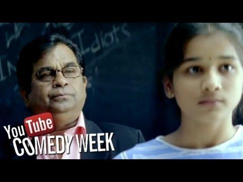 Kotha Bangaru Lokam Movie Brahmanandam Comedy in Classroom   Sri Balaji Video