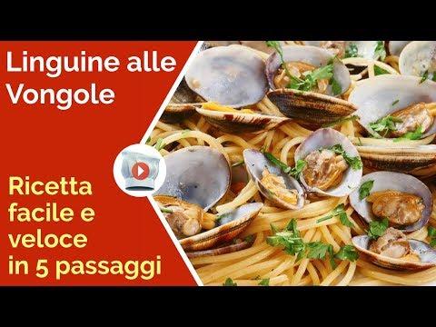 😍-linguine-alle-vongole:-ricetta-facile-e-veloce-in-5-passaggi-❤-ricette-video