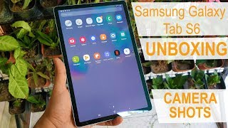 Samsung Galaxy Tab S6 unboxing and hands on experience in Hindi   Gadget Bridge Hindi