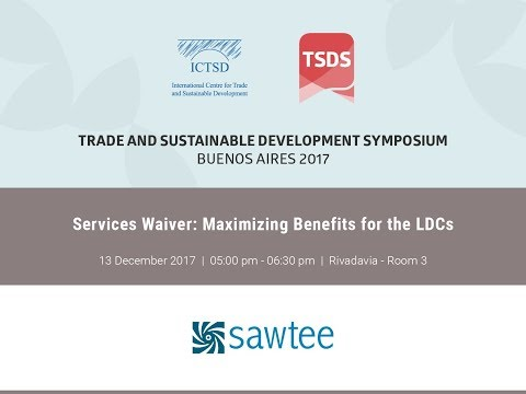 Services Waiver: Maximizing benefits for the LDCs