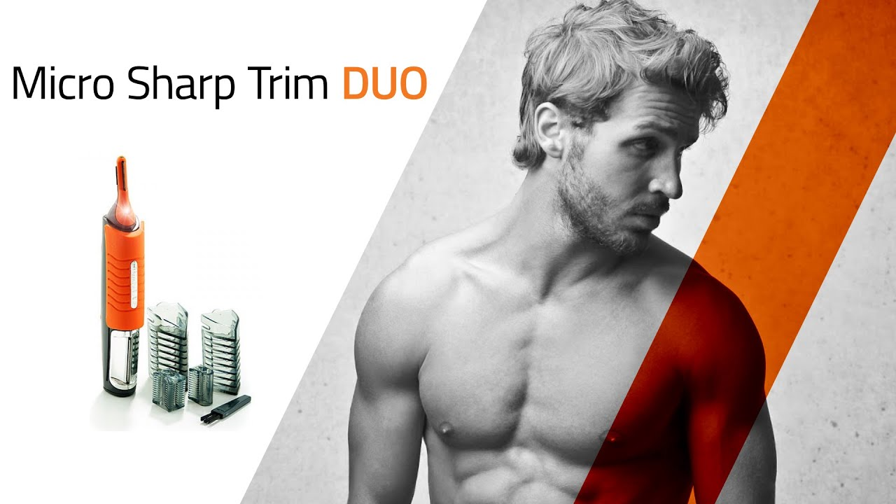 Micro Sharp Trim Duo - Hair Trimmer - YouTube 5699f8e0908b5
