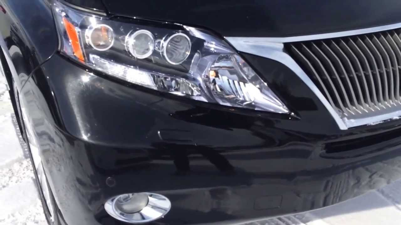 Lexus Certified Pre Owned 2010 RX 450h Hybrid - Ultra ...
