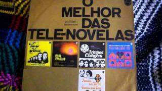 Guilherme Jabur Mostra LP O MELHOR DAS TELENOVELAS selo philips 1970 parte um