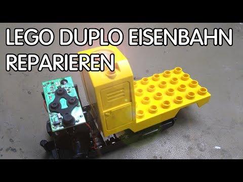 Lego Eisenbahn Reparieren Duplo Mal Schnell Reverse
