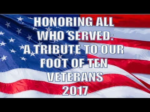 Honoring All Who Served - Foot of Ten Elementary Salutes Our Veterans - 2017