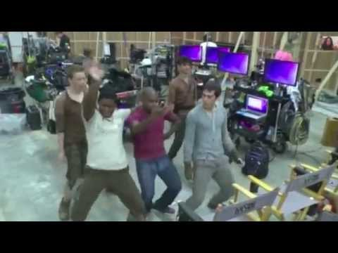 Dylan O'Brien dancing compilation