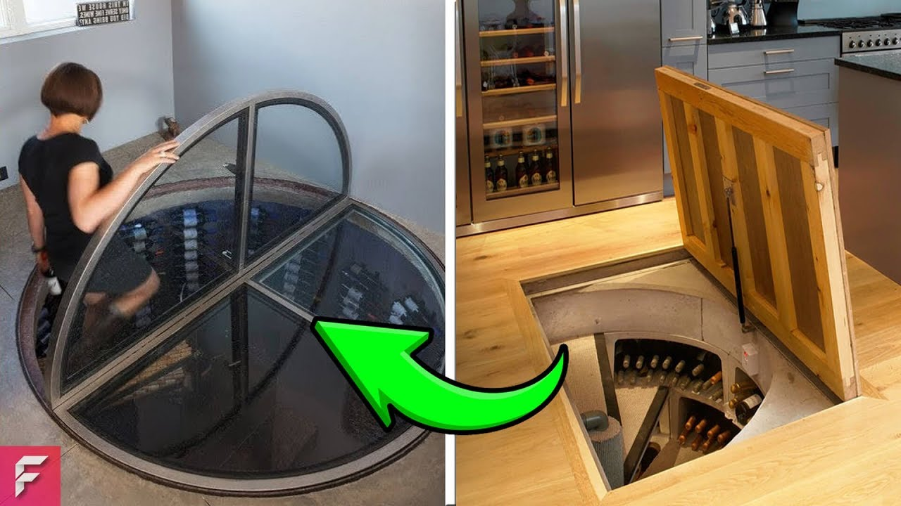 INCREDIBLE AND INGENIOUS Hidden Rooms AND SECRET Furniture - YouTube