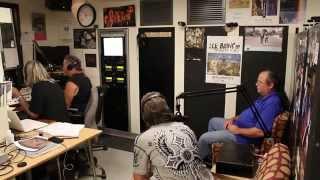 Elliott Dean Rubinson calls during James Steele (& band) interview on KCR Radio