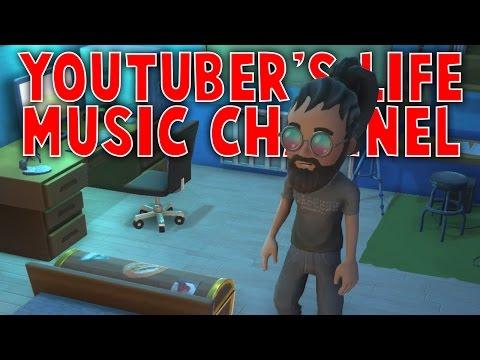 ROCKBAND SIMULATOR | Youtuber's Life Gameplay (Music Channel Update)