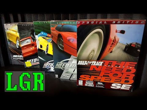 LGR - Remembering the Classic Need For Speed Games
