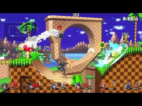 Super Smash Bros. Ultimate - Green Hill Zone