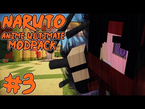 A GREAT POWER! || Naruto Anime Ultimate Modpack Episode 3 (Minecraft Naruto Anime Mod)