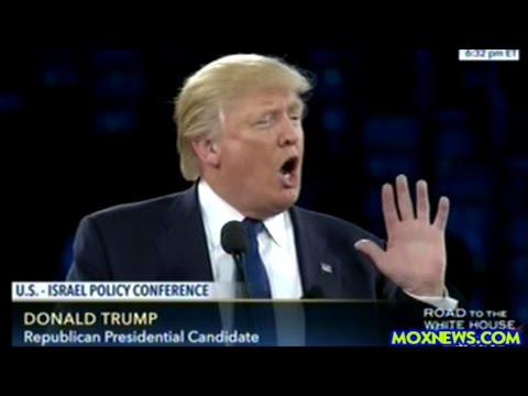 "Donald Trump AIPAC ""Israel Is A Jewish State And It Will FOREVER Exist As A Jewish State!"""