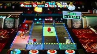 mario power tennis mini game