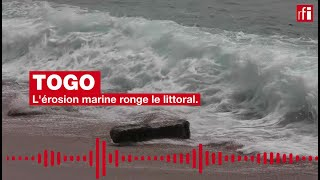Togo - La mer avance et prend tout sur son passage