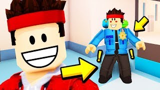I STOPPED A ROBBERY, LIFE AS A COP!! Roblox ITA (Jailbreak)