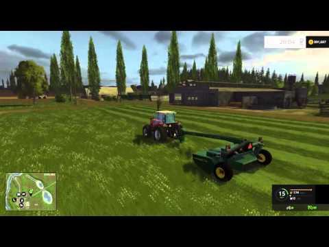 Farm Sim Saturday January 23 2016 Feeding the cattle