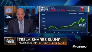Jim Cramer on the market's reaction to Tesla's Battery Day