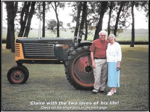Story of 1949 Oliver 66 Row Crop Tractor Up For Sale Saturday on Iowa Auction