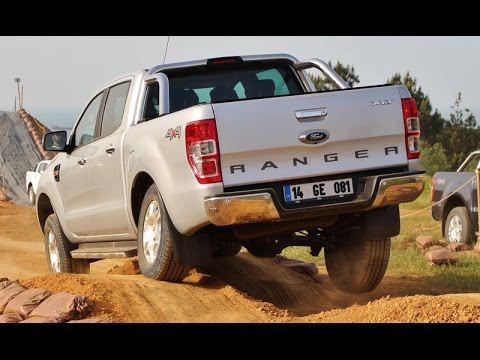 4 X 4 >> Test Ford Ranger 4x4 Youtube