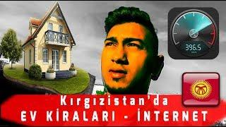 Kırgızistan'da EV KİRALARI  ( İnternetin gücü !! )! VLOG-3 (Alt yazılı)