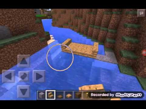 how to make a canoe in minecraft