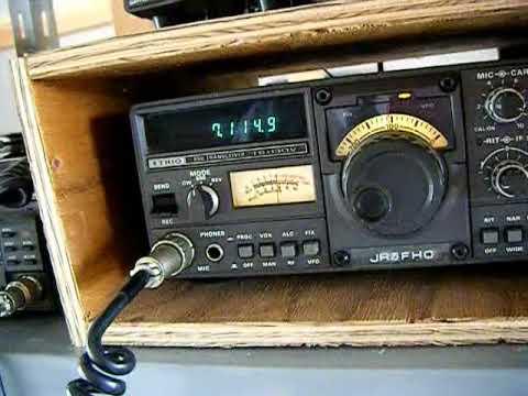 Japan Radio QSO English  2009 1109