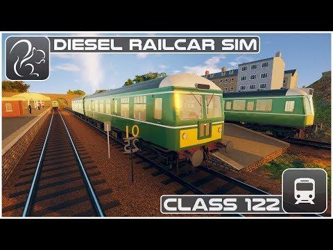Diesel Railcar Simulator - Class 122 (Expert Mode)