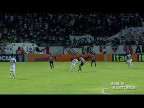 Gols | Santa Cruz 0 X 2 Santos | Brasileirão 2016 (12/06/2016)