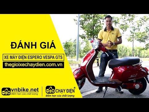 Đánh giá xe máy điện Espero Vespa GTS