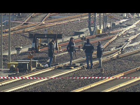 Treno deragliato a Lodi, il punto in cui è avvenuto il disastro