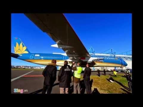 Cận cảnh máy bay hiện đại nhất của Vietnam Airlines- Ngôi Sao TV