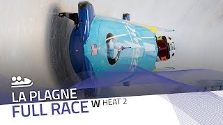 La Plagne | BMW IBSF World Cup 2019/2020 - Women's Bobsleigh Heat 2 | IBSF Official