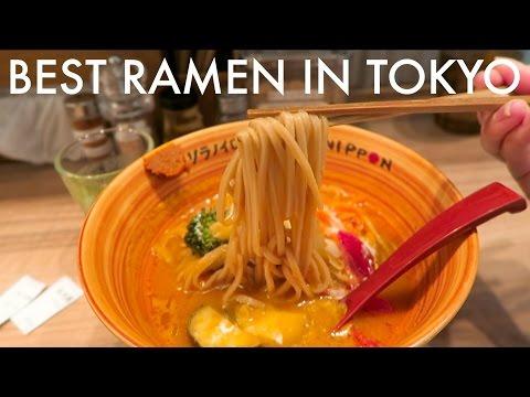 MY FAVOURITE RAMEN IN TOKYO   Vegan and Gluten-Free