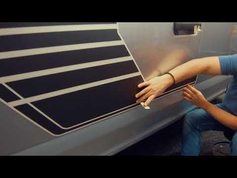2017 2018 Ford F150 Stripes SPEEDWAY Vinyl Graphic Kits Installation