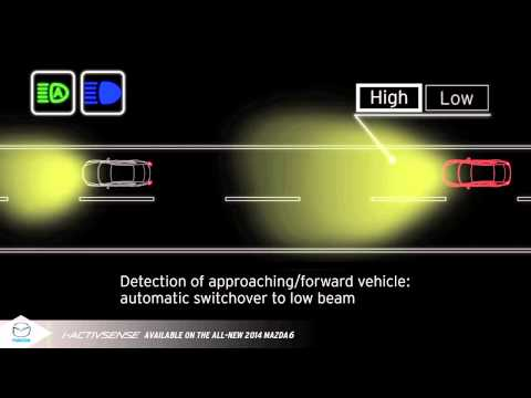 i-ACTIVSENSE - High Beam Control System | Vehicle Safety | M