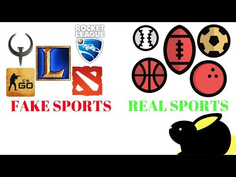 Esports are Not Real Sports and Ruin Gaming