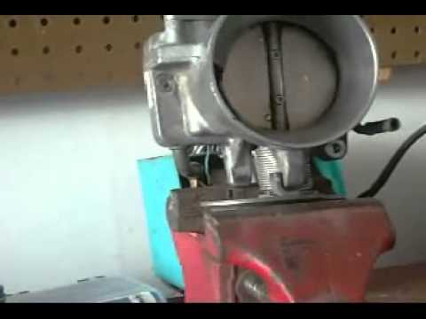 Porting LS1 Throttle Body wmv