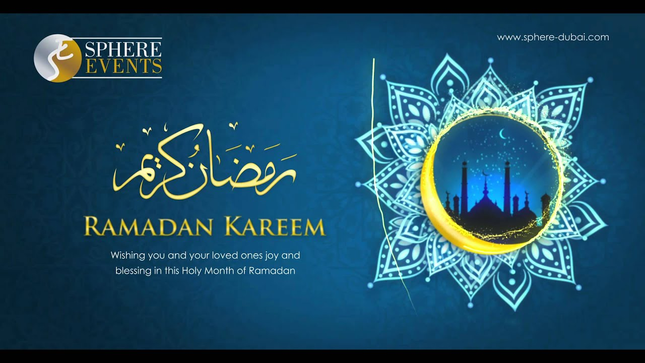 ramadan kareem 2014 from sphere events youtube
