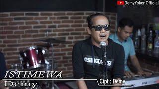 ISTIMEWA Versi ACUSTIK - Demy Yoker LIVE Posko CAH EDAN